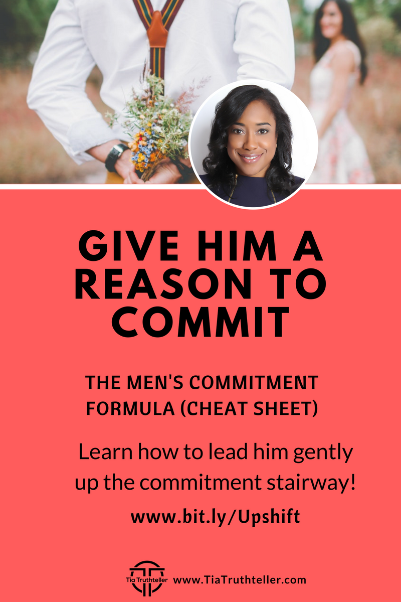 Opt in for Mens Commitment Formula Cheat Sheet